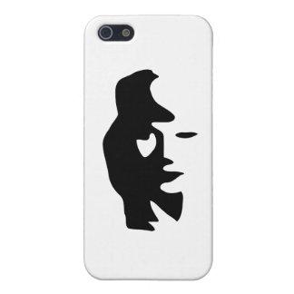 Saxophone Or Woman Optical  Illusion iPhone 5 Case