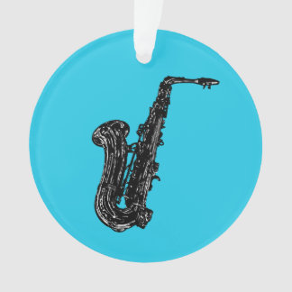Saxophone Ornament