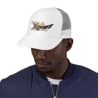 Saxophone & Piano Music Caps Mesh Hat