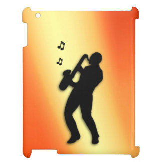 Saxophone Player Case For The iPad