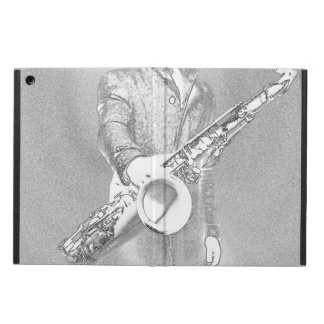 saxophone player... cover for iPad air