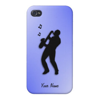 Saxophone Player custom 4s Cover For iPhone 4