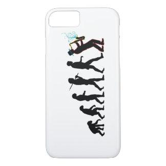 Saxophone Player Evolution iPhone 7 Case