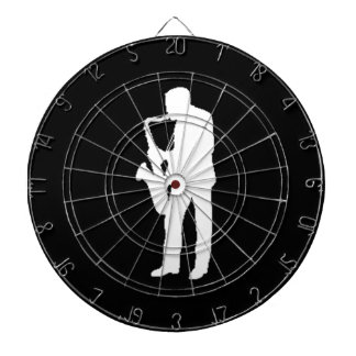 """Saxophone Player"" gifts and products Dartboard"