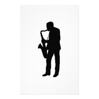 """""""Saxophone Player"""" gifts and products Stationery"""