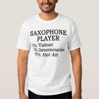 Saxophone Player Hot Air T-Shirt