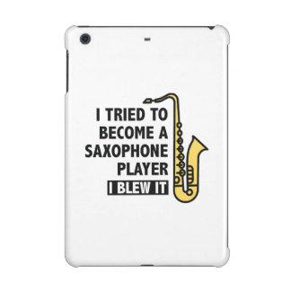 Saxophone Player iPad Mini Retina Cover