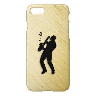 Saxophone Player iPhone 7 Case