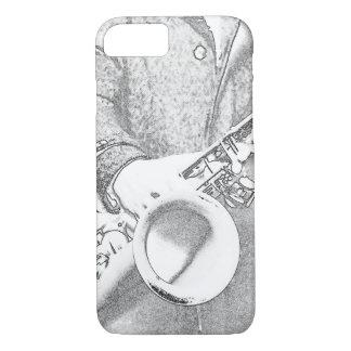 saxophone player... iPhone 7 Case