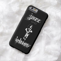 Saxophone Player Jazz Blues Black iPhone 6 Case at Zazzle