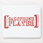 Saxophone Player Mouse Pad