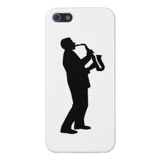 Saxophone player saxophonist iPhone 5/5S case