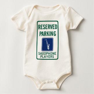 Saxophone Players Parking Baby Bodysuit