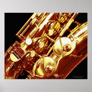 Saxophone Print