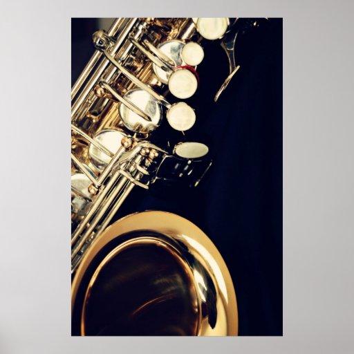 Saxophone Poster Print