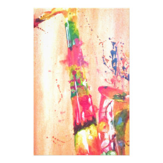 Saxophone Products Stationery