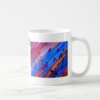 """Saxophone"" Ribbon Series  CricketDiane Design Coffee Mug"