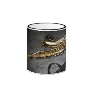 Saxophone Ringer Mug