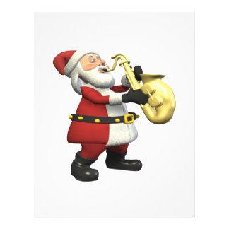 Saxophone Santa Flyers