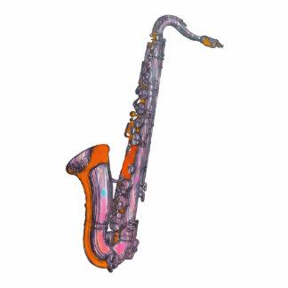 Saxophone Sculpture Photo Cut Outs
