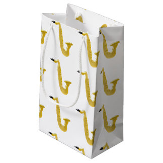 Saxophone Small Gift Bag