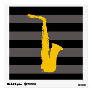 Saxophone Wall Sticker