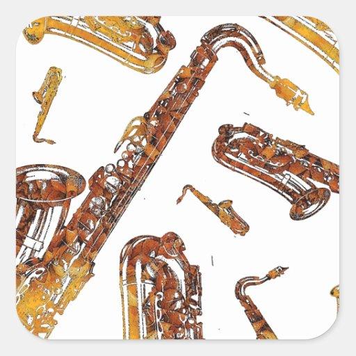 Saxophones11.jpg Sticker
