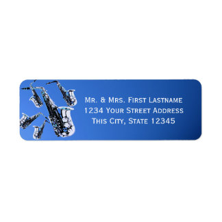 Saxophones Blue Label