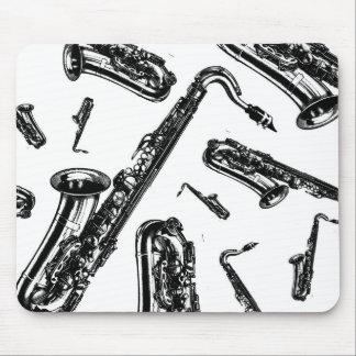 Saxophones Mouse Pad