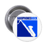 Saxophones Rock! Button
