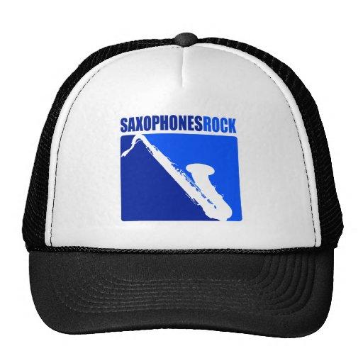 Saxophones Rock! Mesh Hats