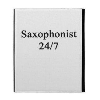 Saxophonist 24/7 iPad folio cover