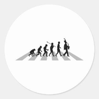Saxophonist Sticker