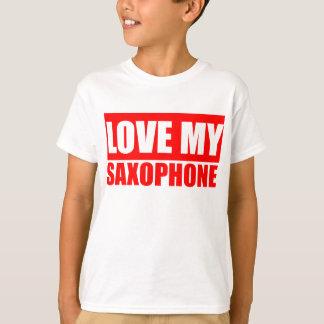 Saxphone divertido playeras