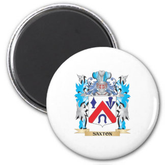 Saxton Coat of Arms - Family Crest Magnet