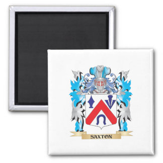 Saxton Coat of Arms - Family Crest Fridge Magnets