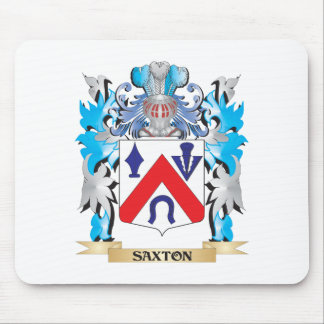Saxton Coat of Arms - Family Crest Mouse Pad