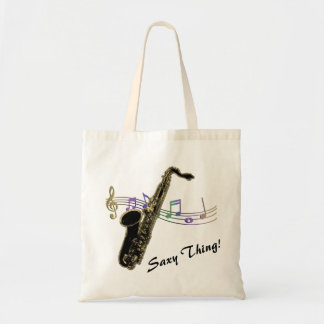Saxy Thing! Rainbow Notes Saxophone Music Bag