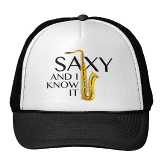 Saxy y yo lo sabemos gorro