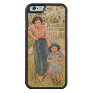 Say a Nice How Do You Do to Your Uncle, 1917, from Carved® Maple iPhone 6 Bumper Case