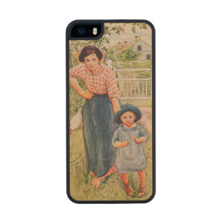 Say a Nice How Do You Do to Your Uncle, 1917, from Wood Phone Case For iPhone SE/5/5s