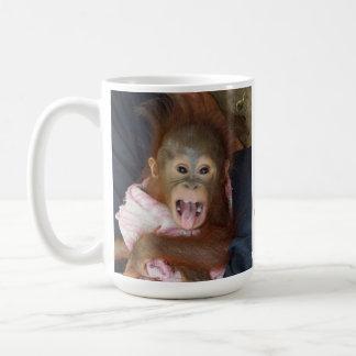 Say aaahhh Baby with pink Tongue Coffee Mugs