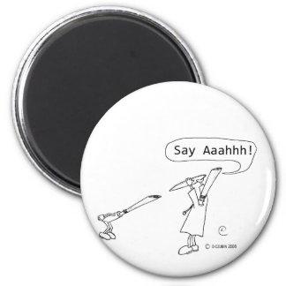 Say Ahhh Magnets