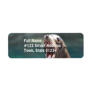 Say Ahhhhh! Return Address Label