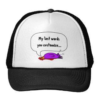 say anything dead bird trucker hat