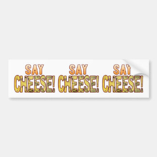 Say Blue Cheese Bumper Sticker