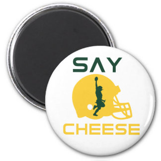 Say Cheese 2 Inch Round Magnet