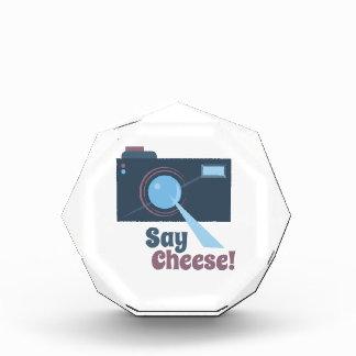 Say Cheese Acrylic Award