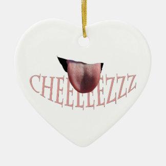 Say Cheese! Ceramic Ornament