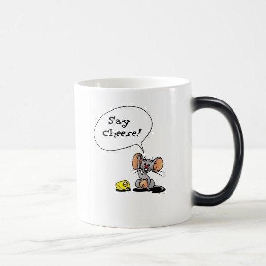 Say Cheese! Magic Mug